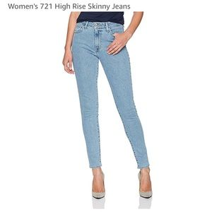 Levi 721 High Rise jeans